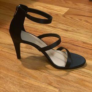 NWOT Kelly & Katie black strappy heels
